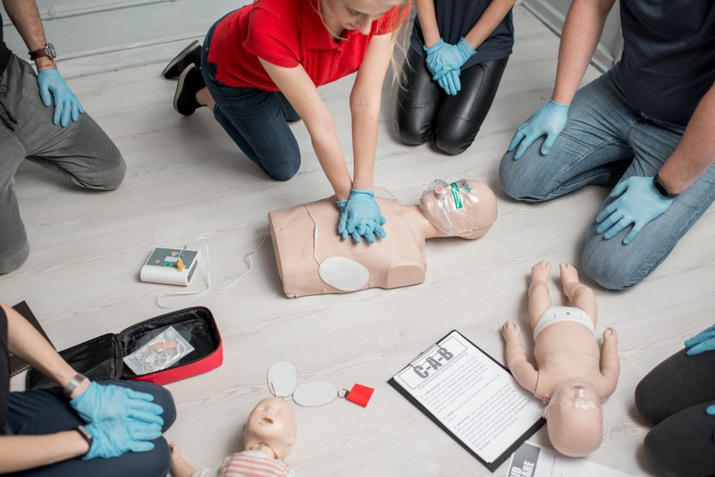 Standard First Aid CPR-C/AED (Blended)