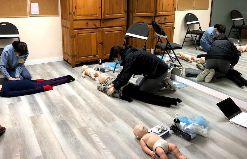 (한국어) Emergency First Aid CPR-C/AED (OFA 1 equivalent) (Blended)
