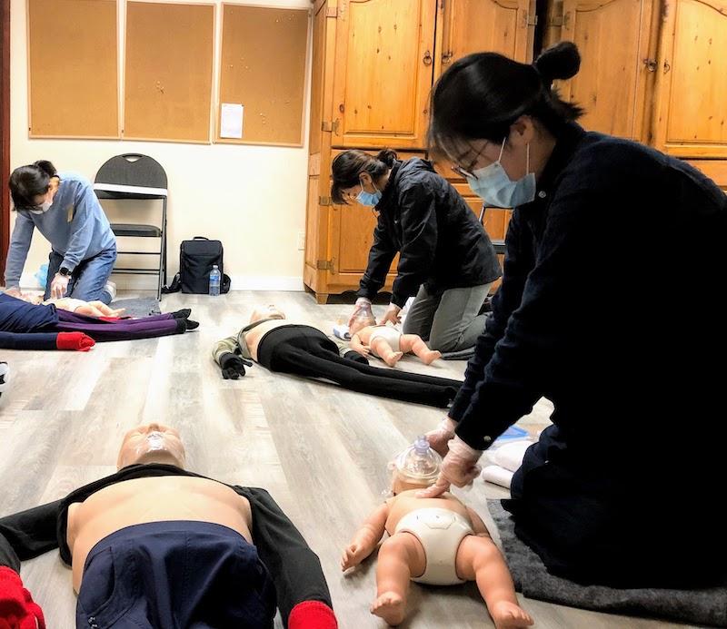 (한국어) Standard First Aid & CPR-C/AED ( OFA level 1 equivalent ) (Blended)